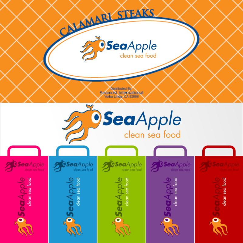 Logo Design by EmLiam - Entry No. 118 in the Logo Design Contest Sea Apple logo.