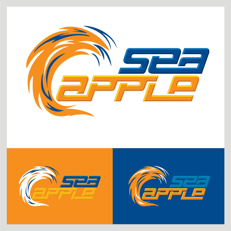 Logo Design by Heru budi Santoso - Entry No. 125 in the Logo Design Contest Sea Apple logo.