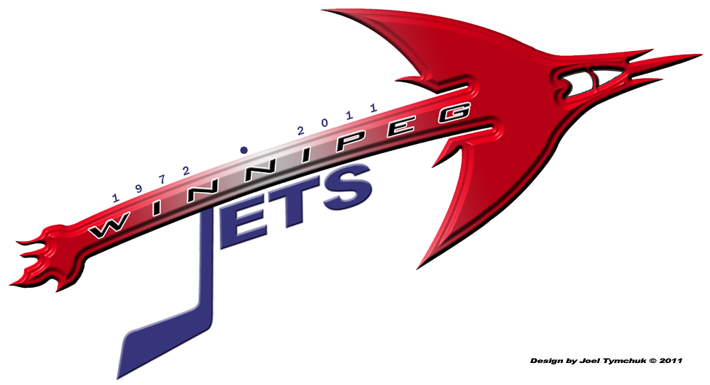 Logo Design by joel_81 - Entry No. 288 in the Logo Design Contest Winnipeg Jets Logo Design Contest.