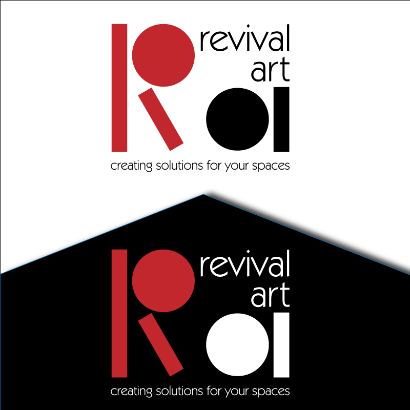 Logo Design by retrobou - Entry No. 105 in the Logo Design Contest Revival Art.