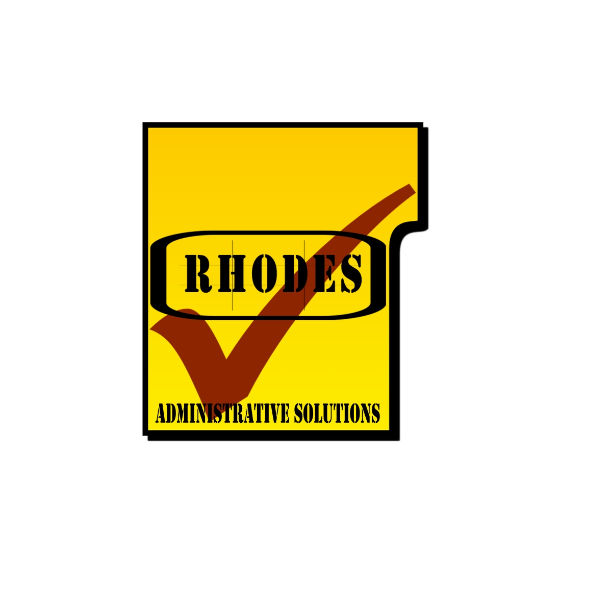 Logo Design by Joseph calunsag Cagaanan - Entry No. 55 in the Logo Design Contest Rhodes Administrative Solutions.