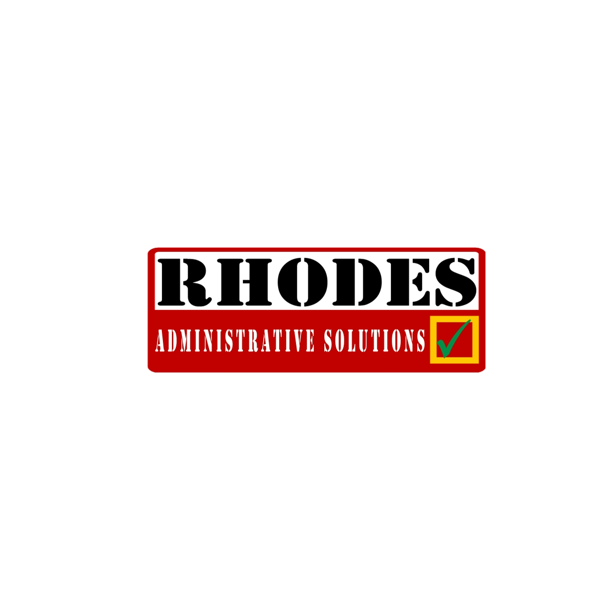 Logo Design by Joseph calunsag Cagaanan - Entry No. 58 in the Logo Design Contest Rhodes Administrative Solutions.