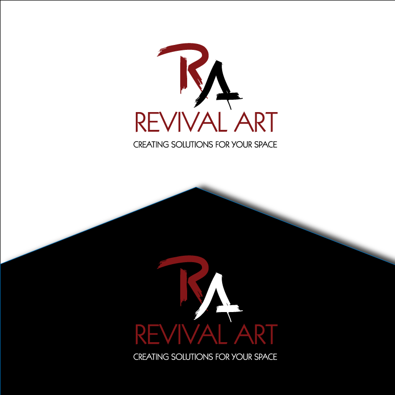 Logo Design by retrobou - Entry No. 111 in the Logo Design Contest Revival Art.
