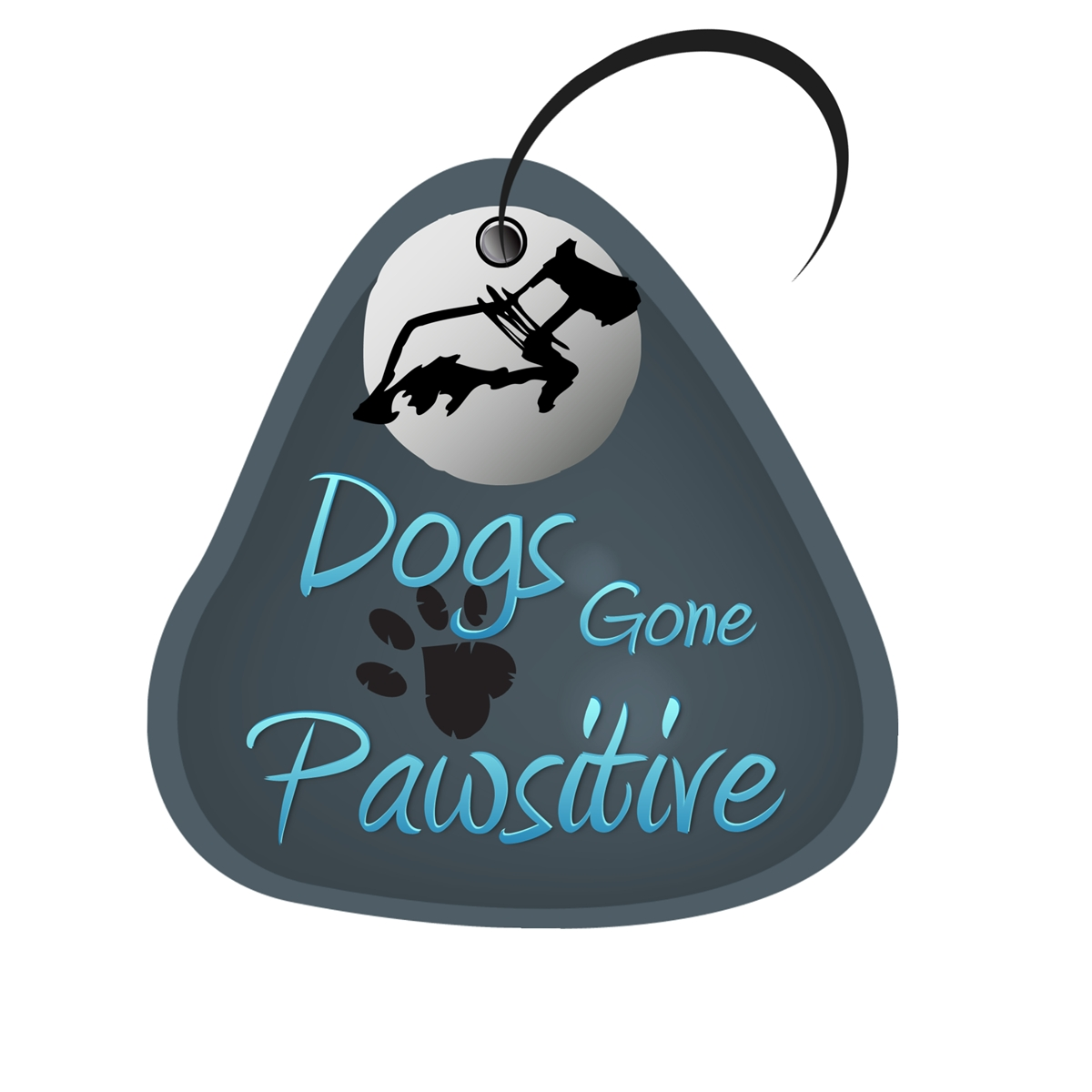 Logo Design by Chris Frederickson - Entry No. 19 in the Logo Design Contest Happy Playful Dog Logo.