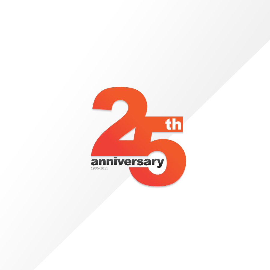 Logo Design by rockpinoy - Entry No. 15 in the Logo Design Contest 25th Anniversary Logo Contest.