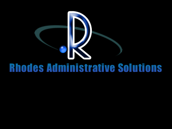 Logo Design by sarah - Entry No. 84 in the Logo Design Contest Rhodes Administrative Solutions.
