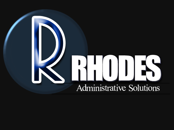 Logo Design by sarah - Entry No. 85 in the Logo Design Contest Rhodes Administrative Solutions.
