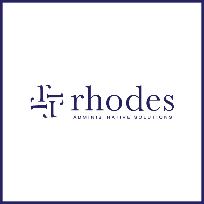 Logo Design by Number-Eight-Design - Entry No. 89 in the Logo Design Contest Rhodes Administrative Solutions.