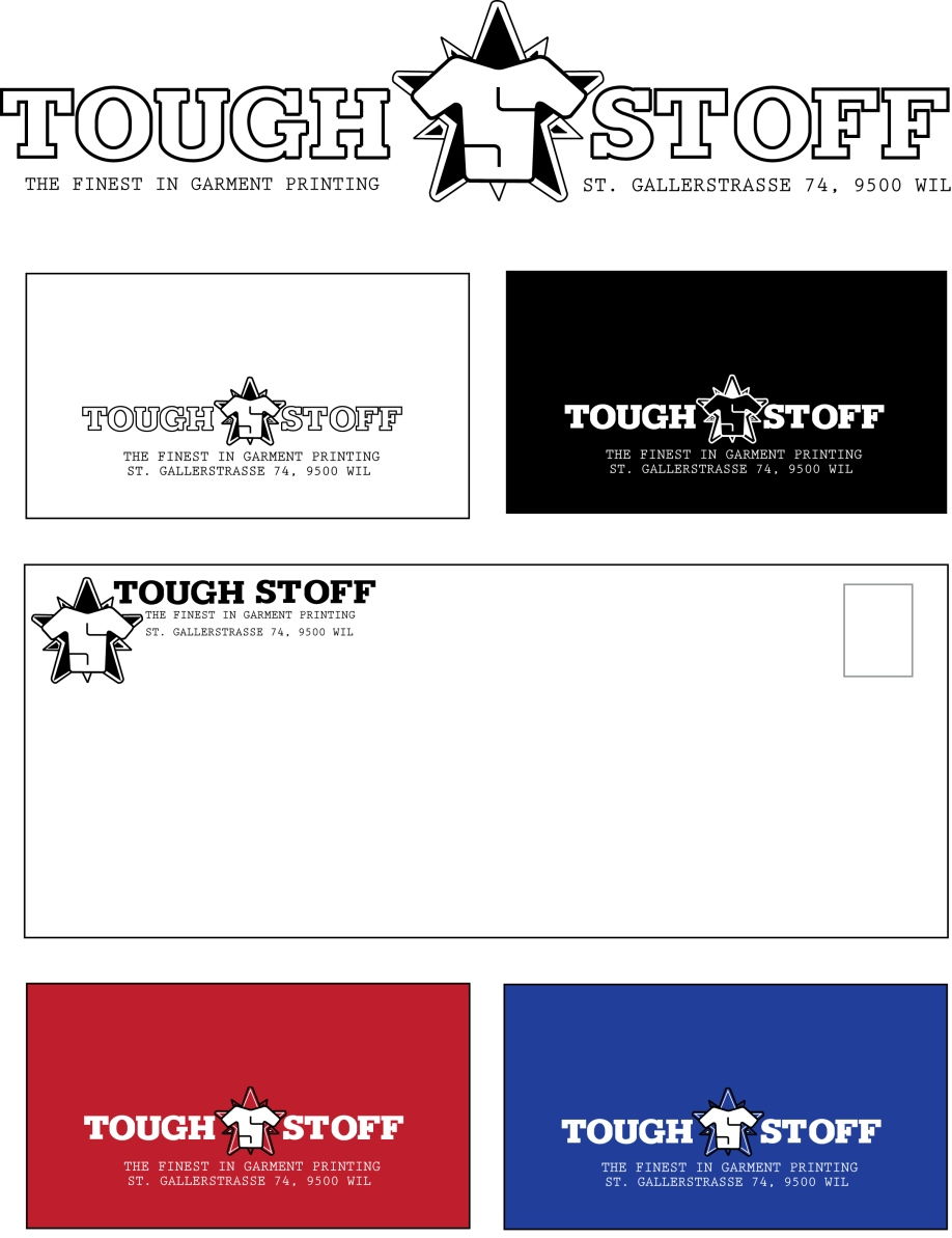 Business Card Design by LLP7 - Entry No. 1 in the Business Card Design Contest Toughstoff Stationery.