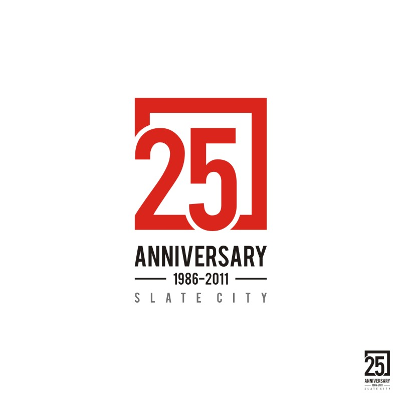 Logo Design by Private User - Entry No. 26 in the Logo Design Contest 25th Anniversary Logo Contest.