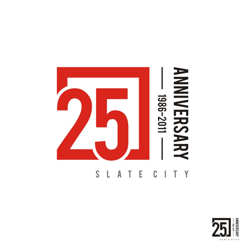 Logo Design by Private User - Entry No. 27 in the Logo Design Contest 25th Anniversary Logo Contest.