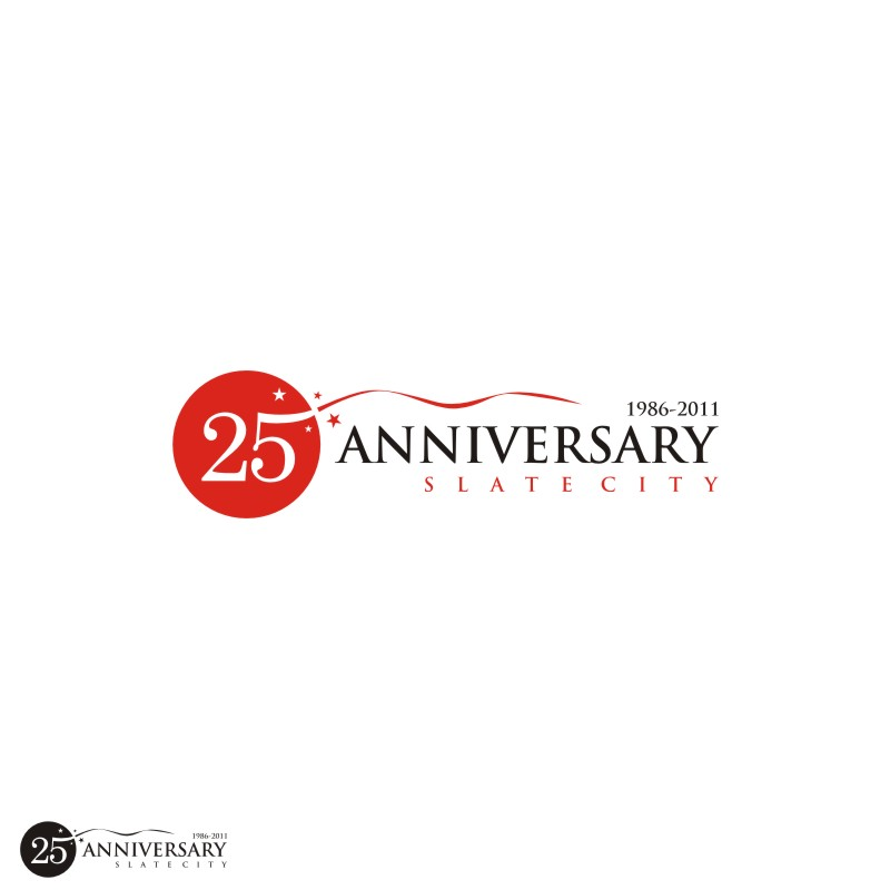 Logo Design by Private User - Entry No. 28 in the Logo Design Contest 25th Anniversary Logo Contest.