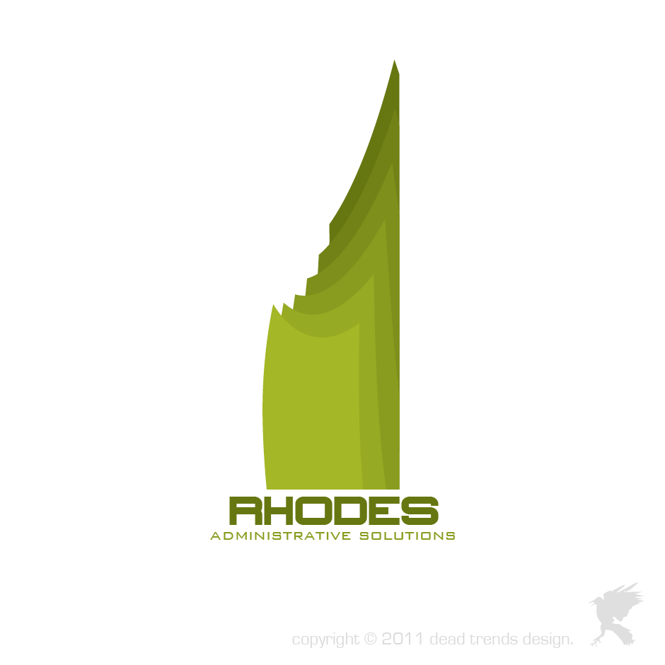 Logo Design by deadtrends - Entry No. 102 in the Logo Design Contest Rhodes Administrative Solutions.