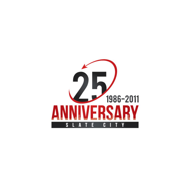 Logo Design by sfi - Entry No. 34 in the Logo Design Contest 25th Anniversary Logo Contest.