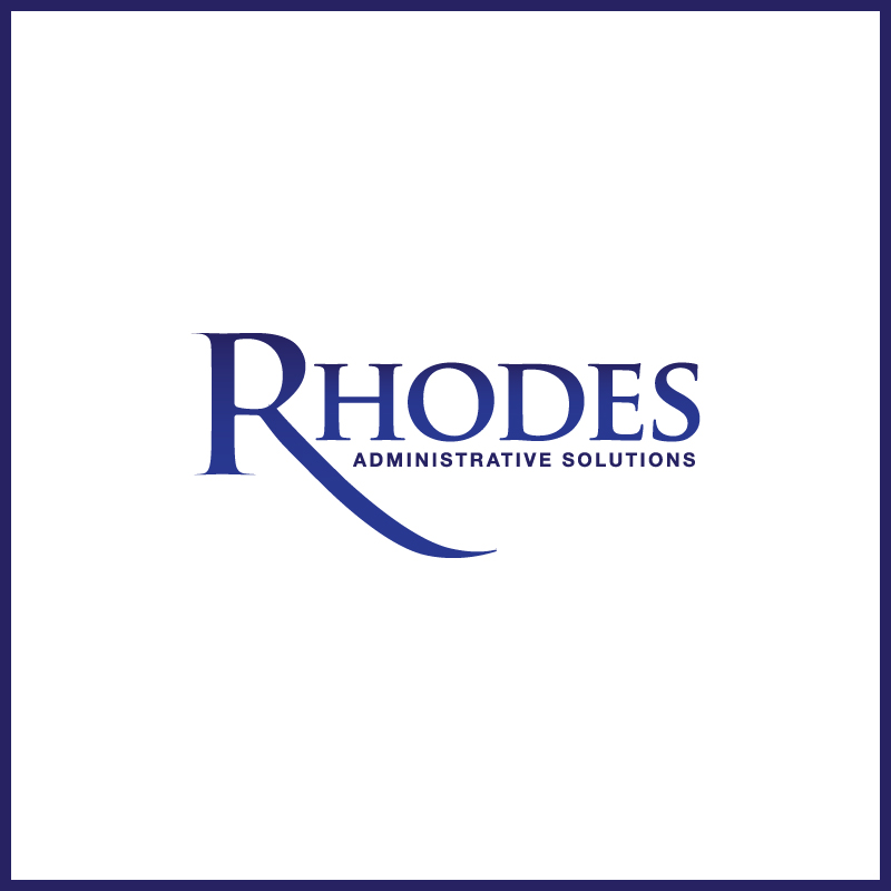 Logo Design by Number-Eight-Design - Entry No. 103 in the Logo Design Contest Rhodes Administrative Solutions.