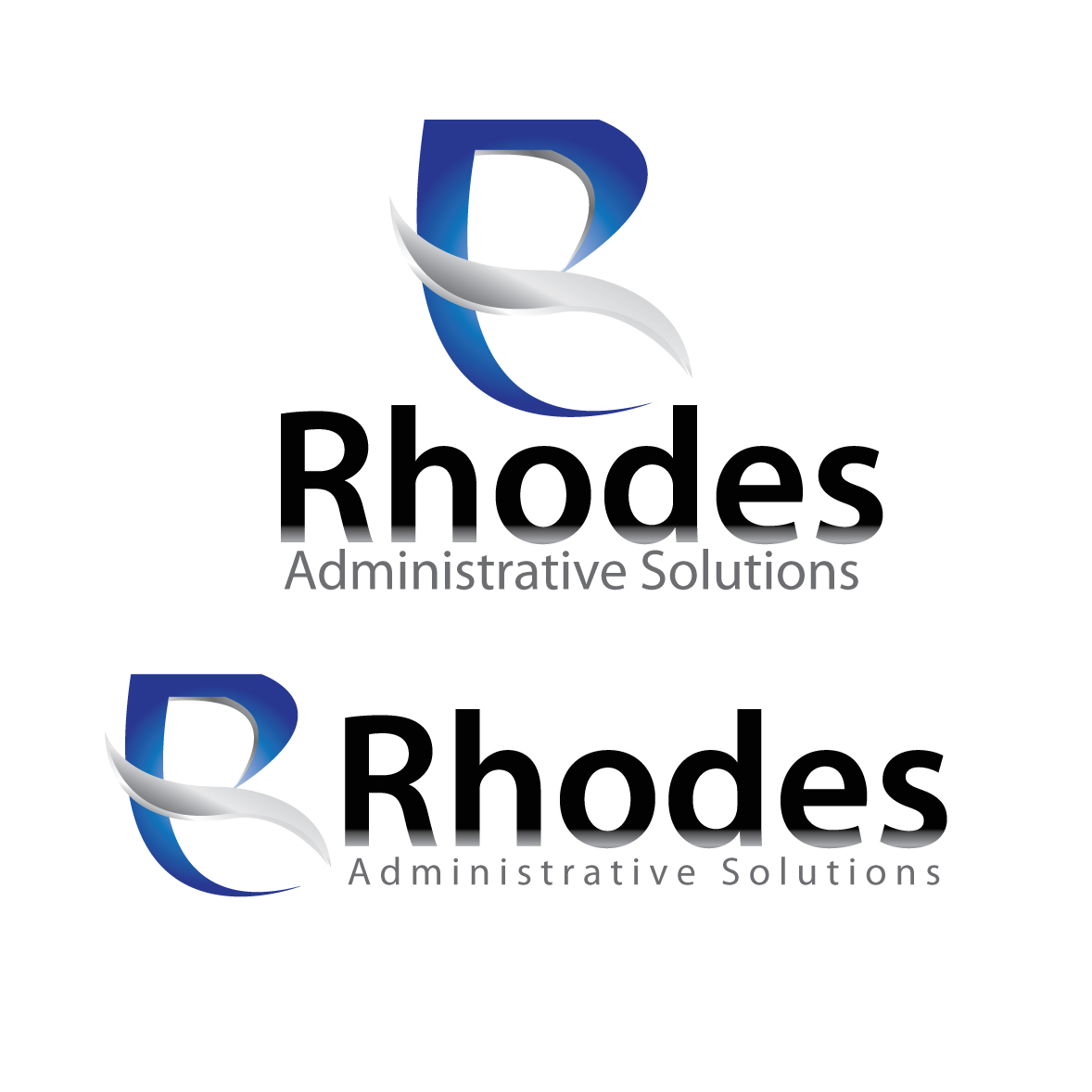 Logo Design by stormbighit - Entry No. 116 in the Logo Design Contest Rhodes Administrative Solutions.