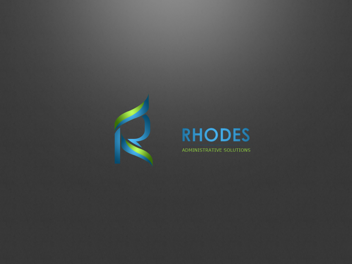 Logo Design by Private User - Entry No. 118 in the Logo Design Contest Rhodes Administrative Solutions.