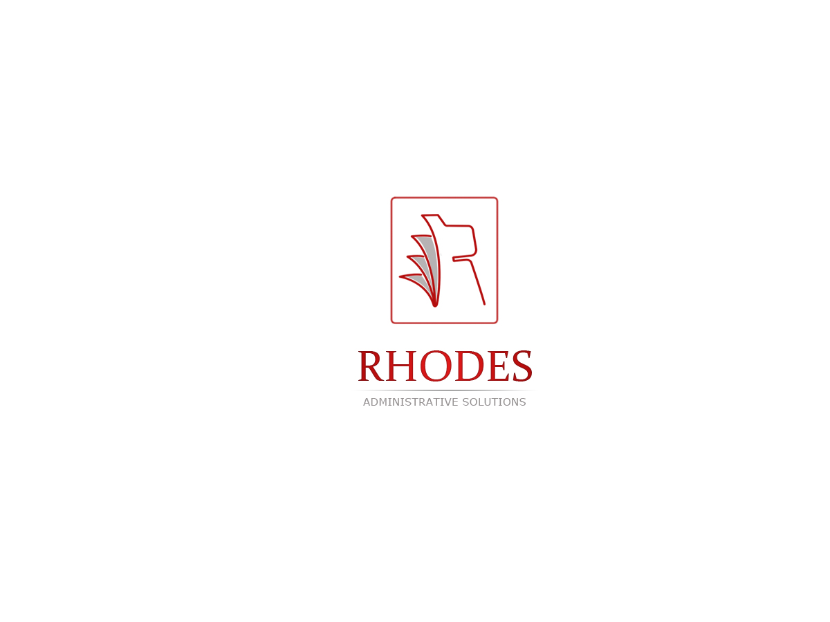 Logo Design by Private User - Entry No. 130 in the Logo Design Contest Rhodes Administrative Solutions.