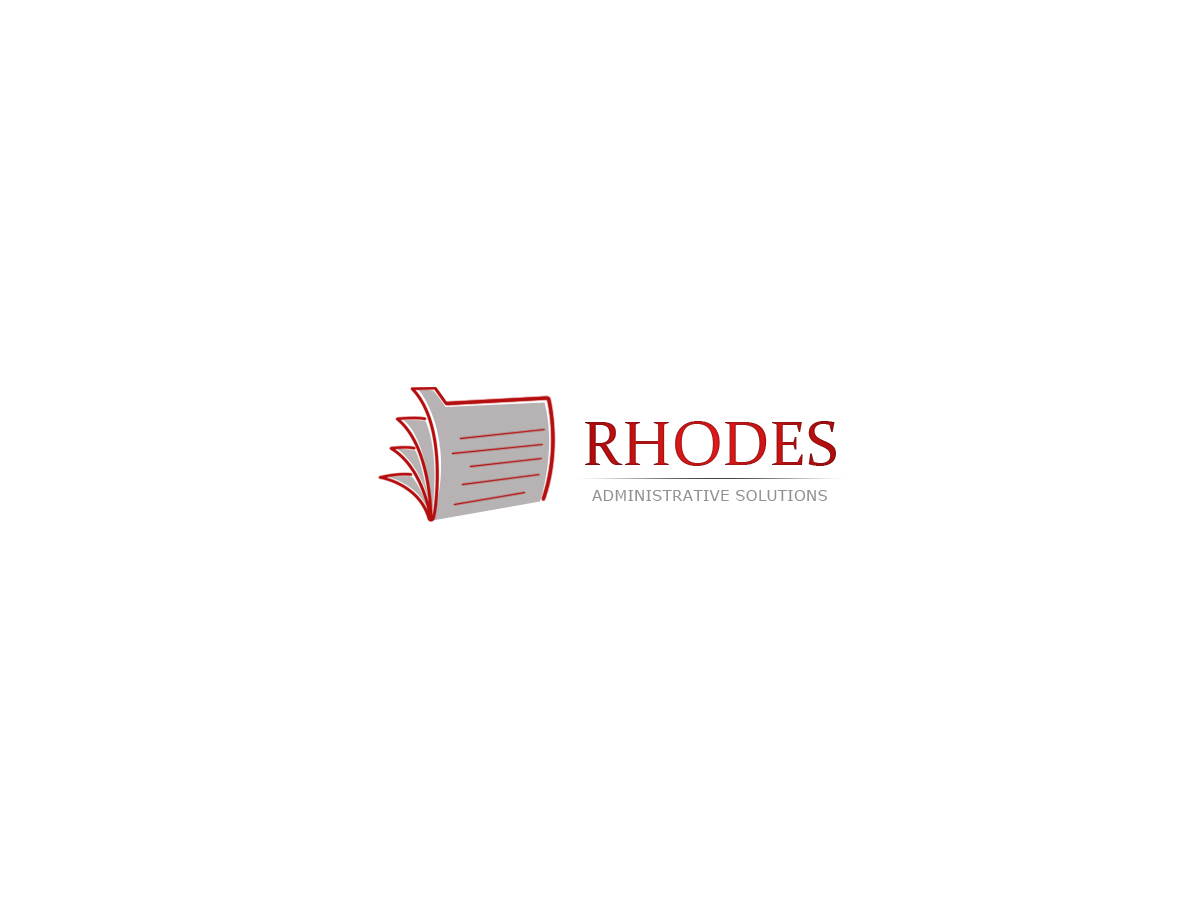 Logo Design by Private User - Entry No. 132 in the Logo Design Contest Rhodes Administrative Solutions.