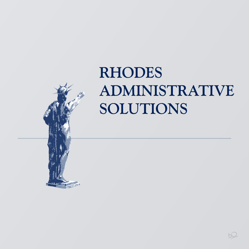 Logo Design by Oussama-Hafaiedh - Entry No. 141 in the Logo Design Contest Rhodes Administrative Solutions.