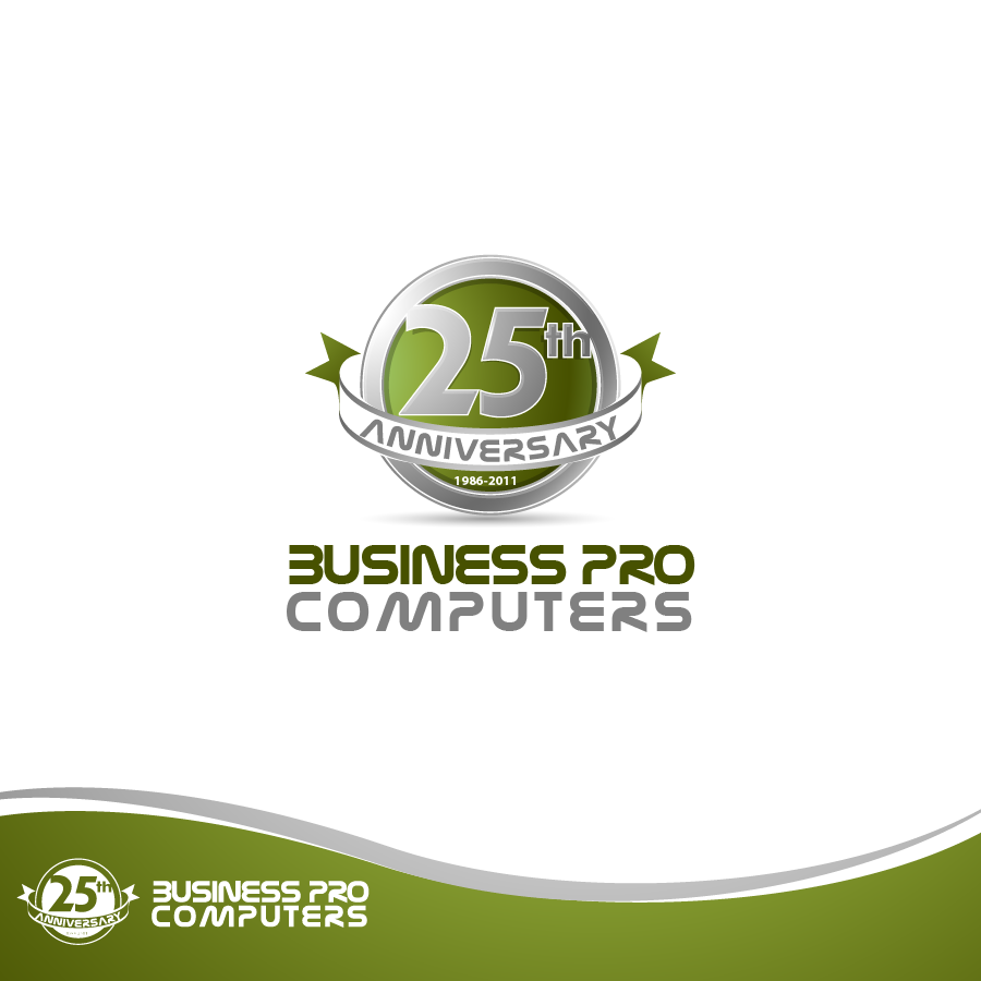 Logo Design by zesthar - Entry No. 72 in the Logo Design Contest 25th Anniversary Logo Contest.