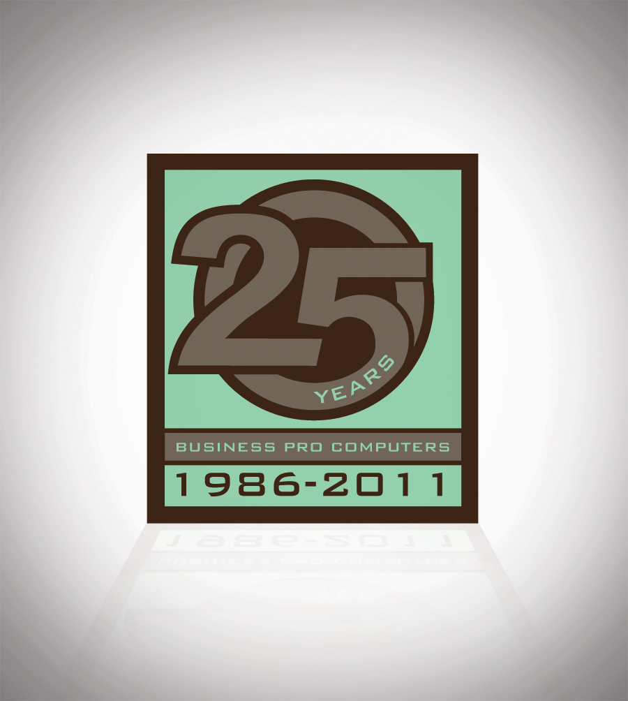 Logo Design by harleydontsurf - Entry No. 78 in the Logo Design Contest 25th Anniversary Logo Contest.