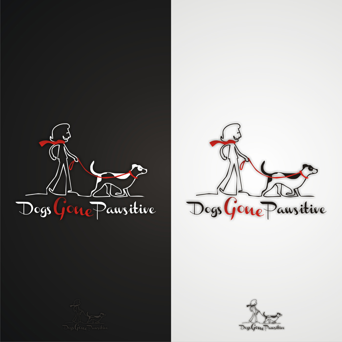 Logo Design by lestari17 - Entry No. 45 in the Logo Design Contest Happy Playful Dog Logo.