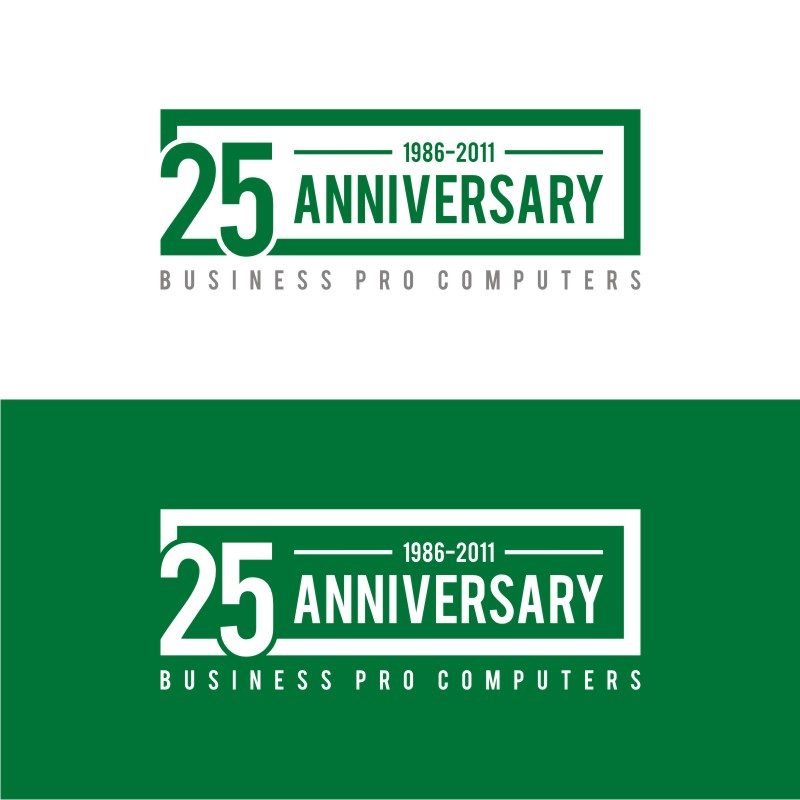 Logo Design by Private User - Entry No. 84 in the Logo Design Contest 25th Anniversary Logo Contest.