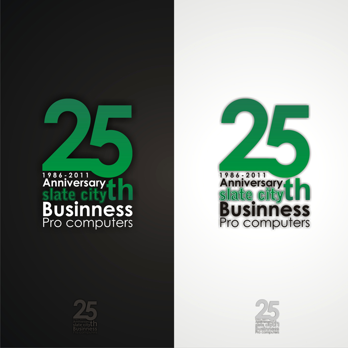 Logo Design by lestari17 - Entry No. 87 in the Logo Design Contest 25th Anniversary Logo Contest.