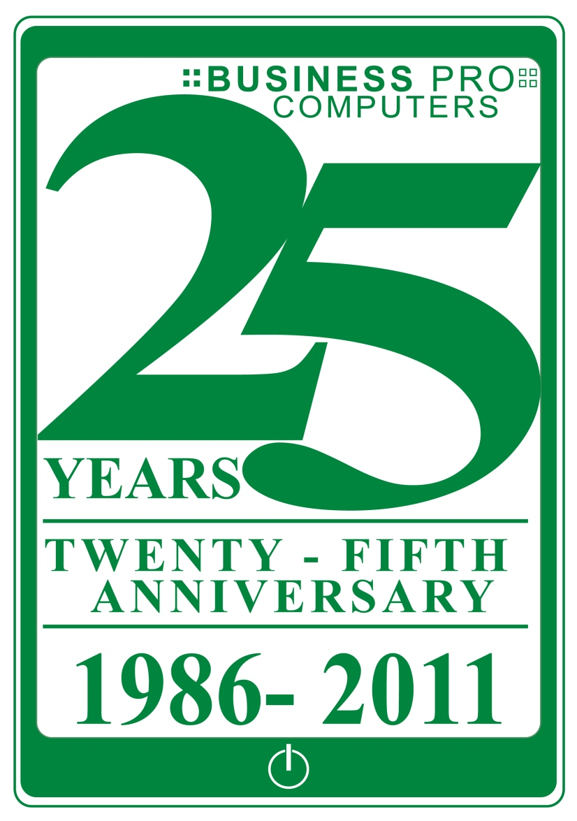 Logo Design by LLP7 - Entry No. 93 in the Logo Design Contest 25th Anniversary Logo Contest.