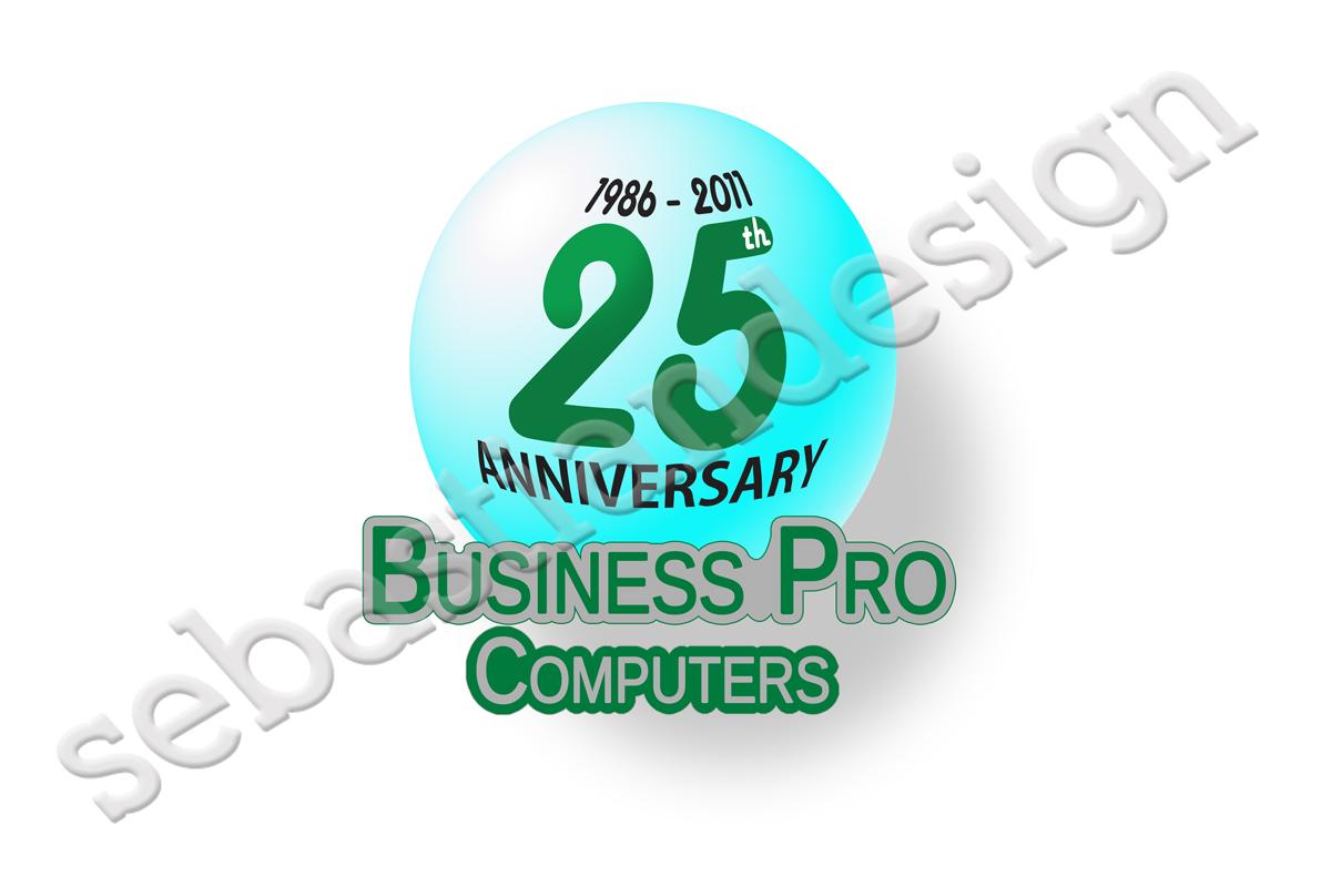 Logo Design by Sebastian Popescu - Entry No. 97 in the Logo Design Contest 25th Anniversary Logo Contest.