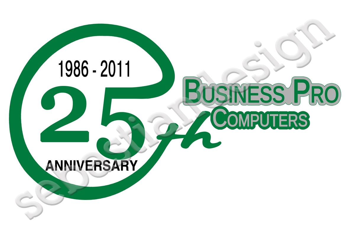 Logo Design by Sebastian Popescu - Entry No. 100 in the Logo Design Contest 25th Anniversary Logo Contest.