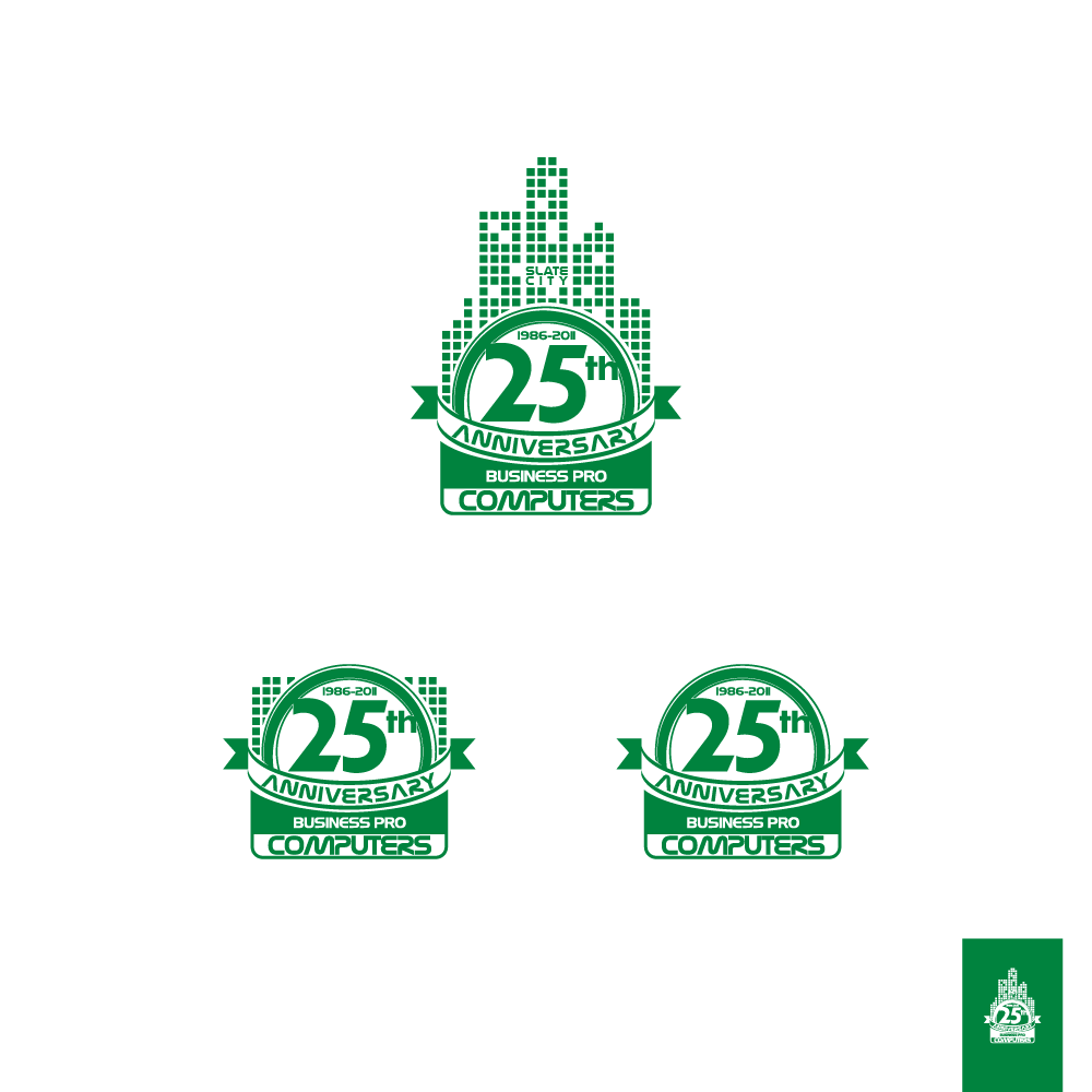 Logo Design by zesthar - Entry No. 120 in the Logo Design Contest 25th Anniversary Logo Contest.