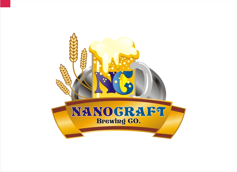 Logo Design by Private User - Entry No. 48 in the Logo Design Contest Unique Logo Design Wanted for NanoCraft Brewing Company.