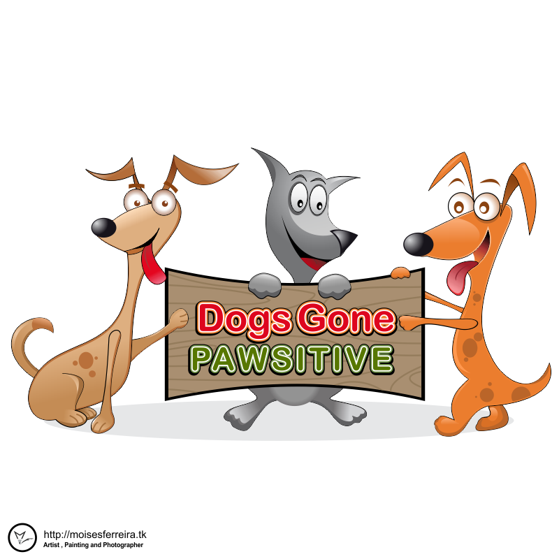 Logo Design by moisesf - Entry No. 95 in the Logo Design Contest Happy Playful Dog Logo.