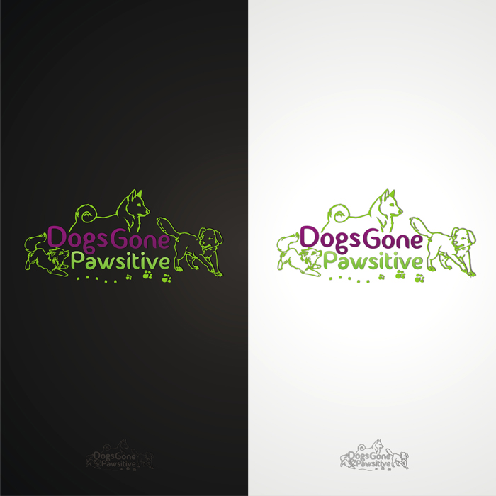 Logo Design by lestari17 - Entry No. 108 in the Logo Design Contest Happy Playful Dog Logo.