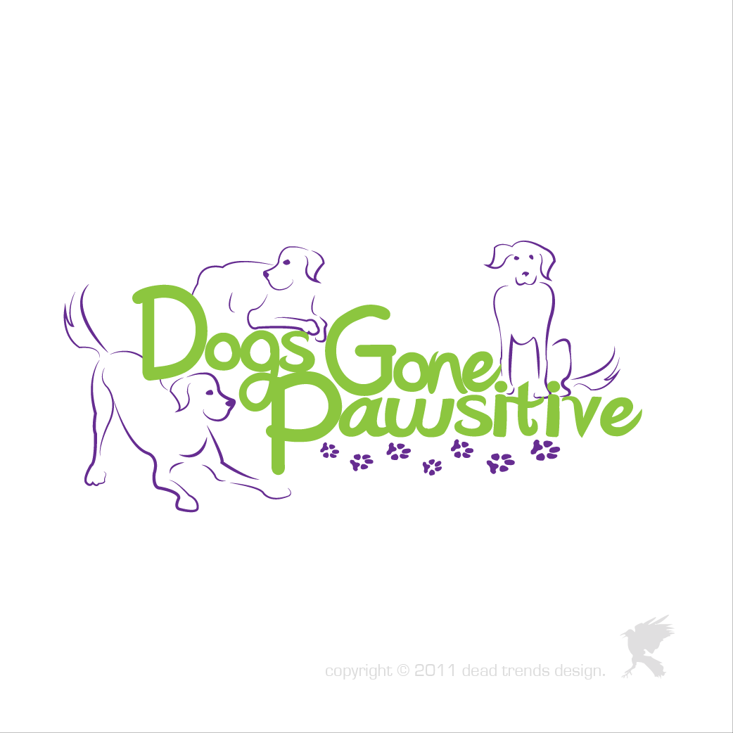 Logo Design by deadtrends - Entry No. 131 in the Logo Design Contest Happy Playful Dog Logo.