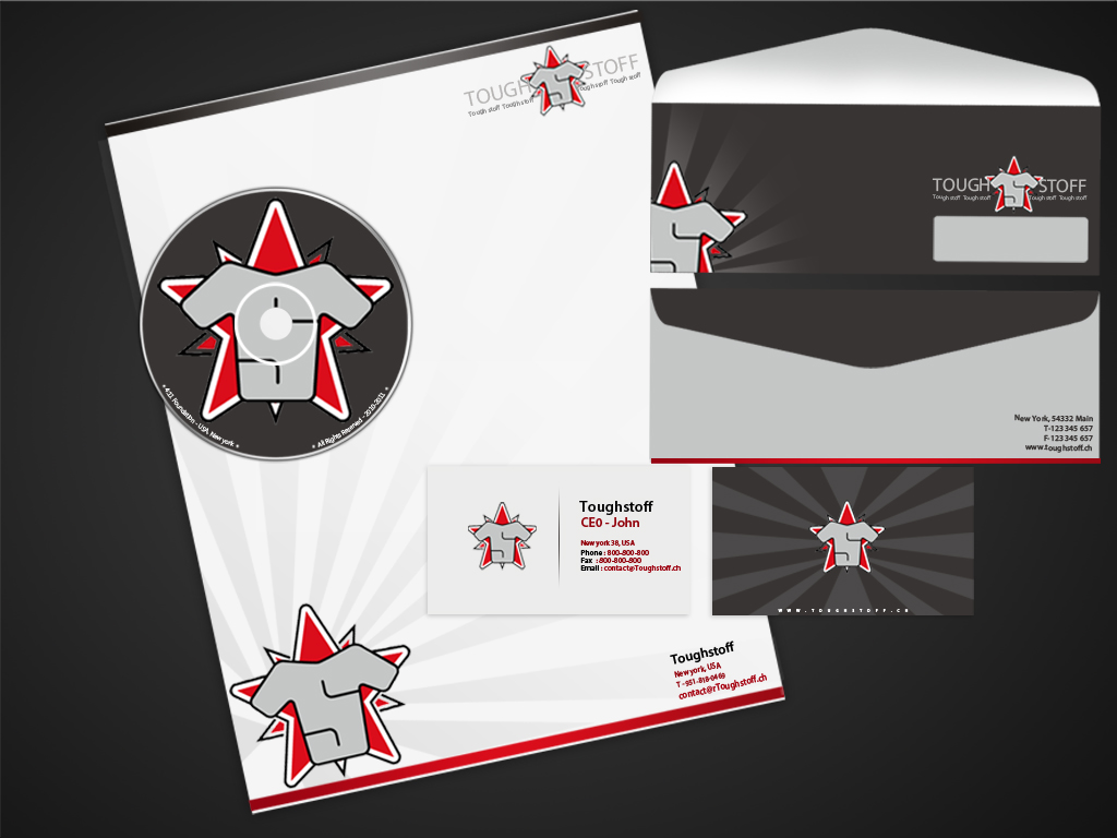 Business Card Design by Private User - Entry No. 14 in the Business Card Design Contest Toughstoff Stationery.
