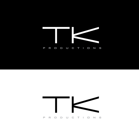 Logo Design by IconicDesign - Entry No. 25 in the Logo Design Contest TKProductions Logo Re-Vamp.