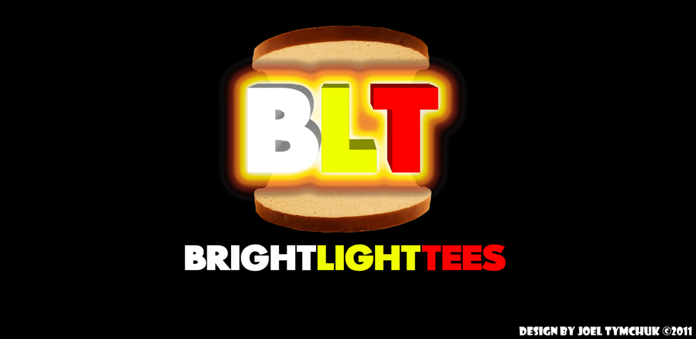 Logo Design by joel_81 - Entry No. 16 in the Logo Design Contest BLT Sandwich Logo - Bread, with stacked words as filling.