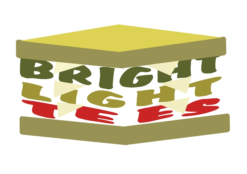 Logo Design by Heri Susanto - Entry No. 17 in the Logo Design Contest BLT Sandwich Logo - Bread, with stacked words as filling.