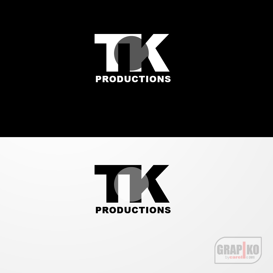 Logo Design by carell - Entry No. 61 in the Logo Design Contest TKProductions Logo Re-Vamp.