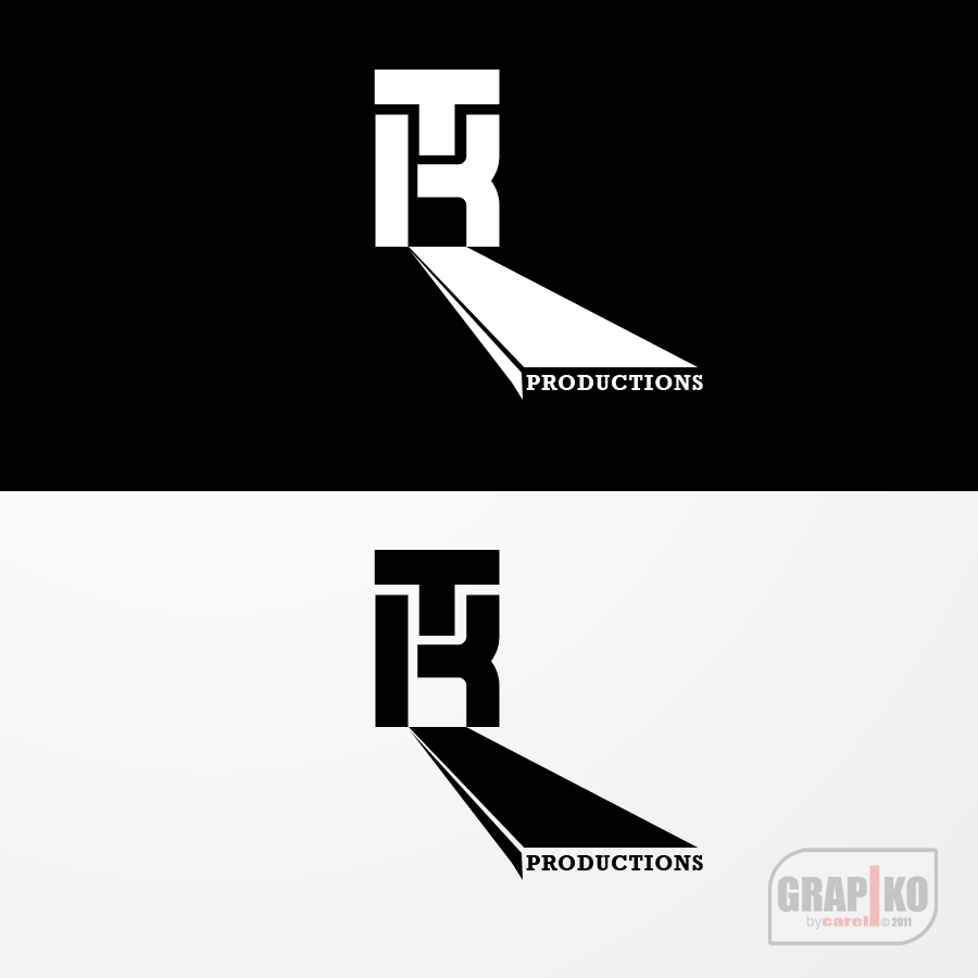 Logo Design by carell - Entry No. 62 in the Logo Design Contest TKProductions Logo Re-Vamp.