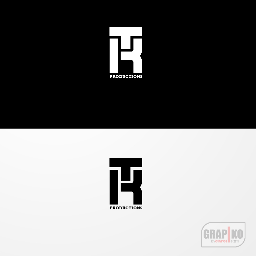 Logo Design by carell - Entry No. 63 in the Logo Design Contest TKProductions Logo Re-Vamp.