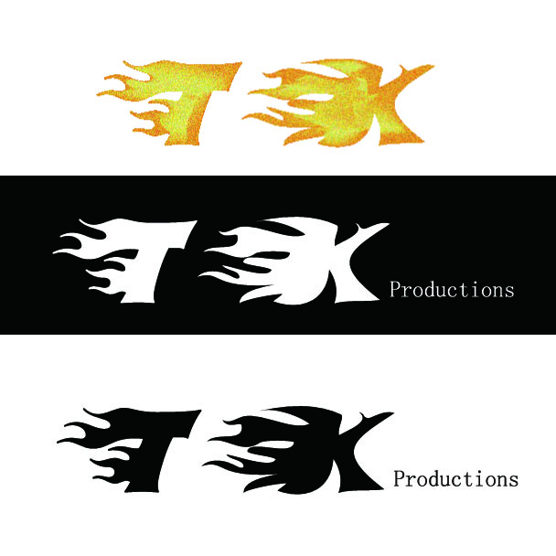 Logo Design by ban - Entry No. 66 in the Logo Design Contest TKProductions Logo Re-Vamp.