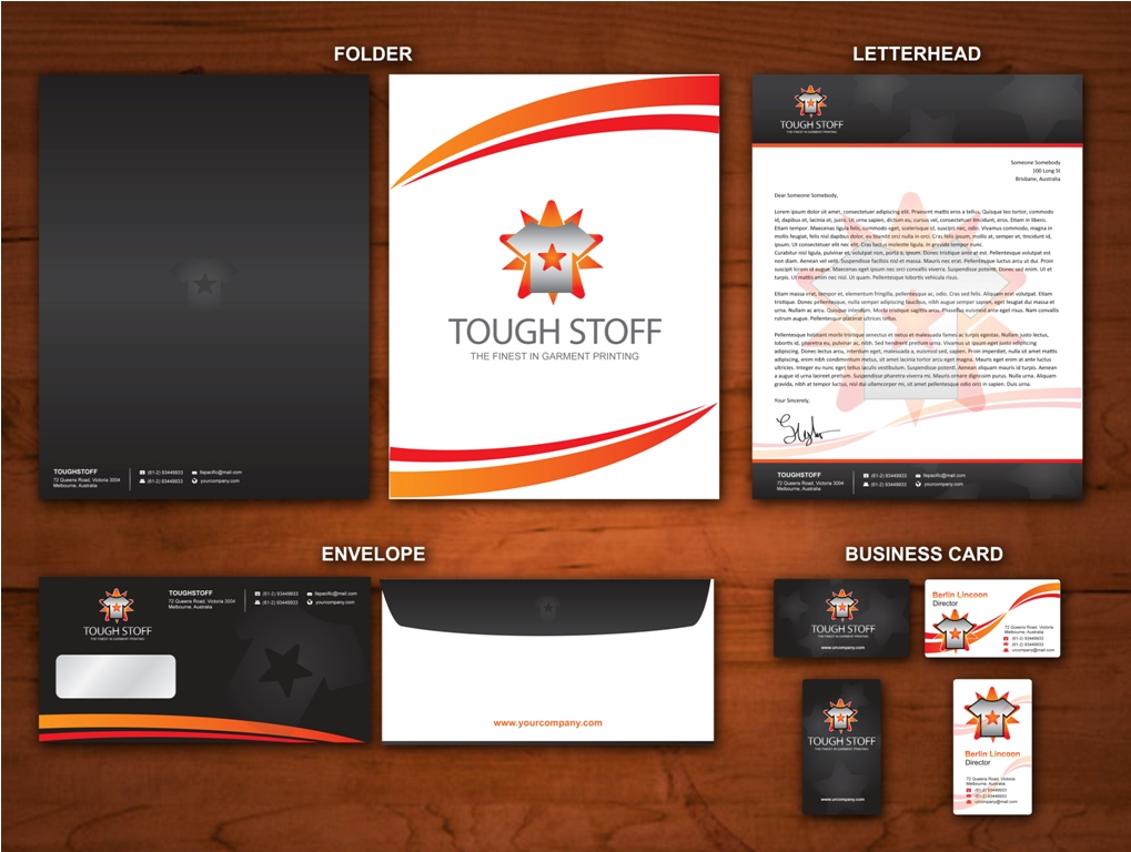 Business Card Design Contests » Toughstoff Stationery » Design No ...