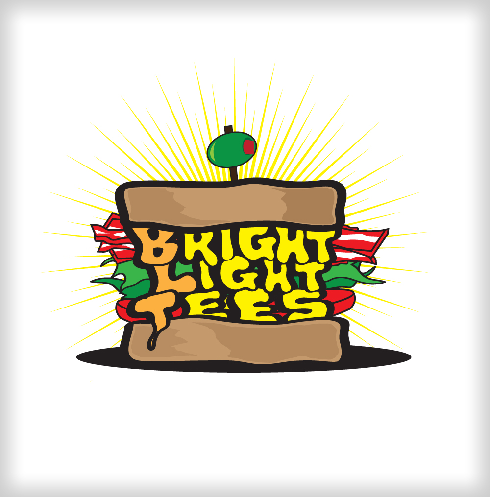 Logo Design by harleydontsurf - Entry No. 27 in the Logo Design Contest BLT Sandwich Logo - Bread, with stacked words as filling.