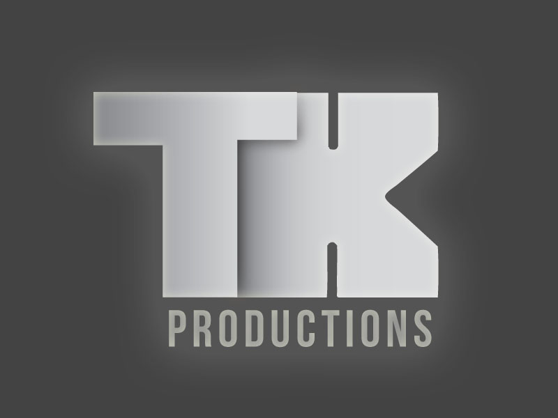 Logo Design by artemissia - Entry No. 73 in the Logo Design Contest TKProductions Logo Re-Vamp.