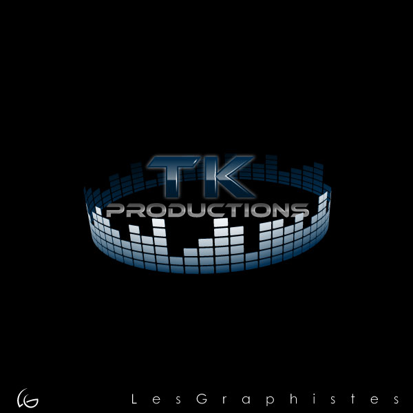 Logo Design by Les-Graphistes - Entry No. 81 in the Logo Design Contest TKProductions Logo Re-Vamp.