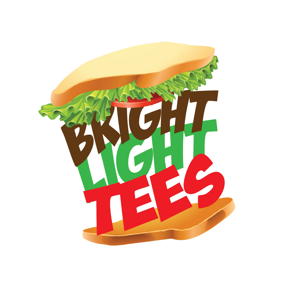 Logo Design by keekee360 - Entry No. 28 in the Logo Design Contest BLT Sandwich Logo - Bread, with stacked words as filling.